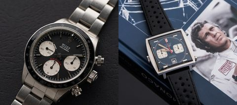 Paul Newman珍藏Daytona以天價成交,一枚Heuer Monaco同場創拍賣新高