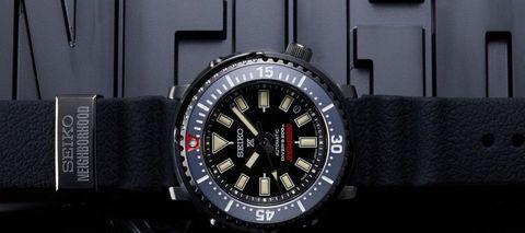 日系重磅聯名Neighborhood x  Seiko,街頭風的潛水腕錶