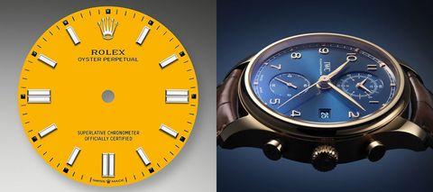 Colourful World唔單止得Rolex,4款淺談整色整水整錶盤