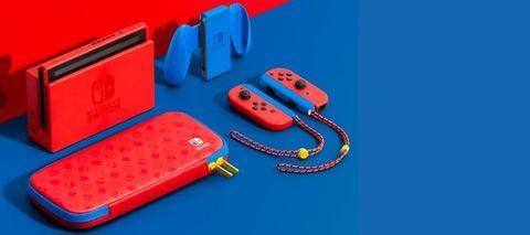 任天堂Switch Super Mario Bros.配色,35周年紀念限量發售