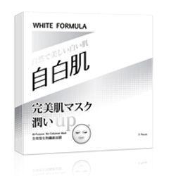 WHITEFORMULA自白肌全效型生物纖維面膜