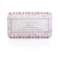 LOLLIA愛蕾雅放鬆乳油木香皂
