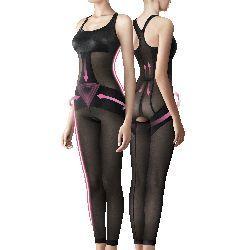 Bast芭絲媞連身塑身衣-美腿雕塑版