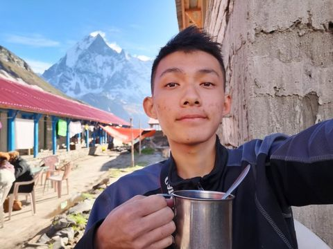 【尼泊爾徒步遊】那時候,我只剩下勇敢