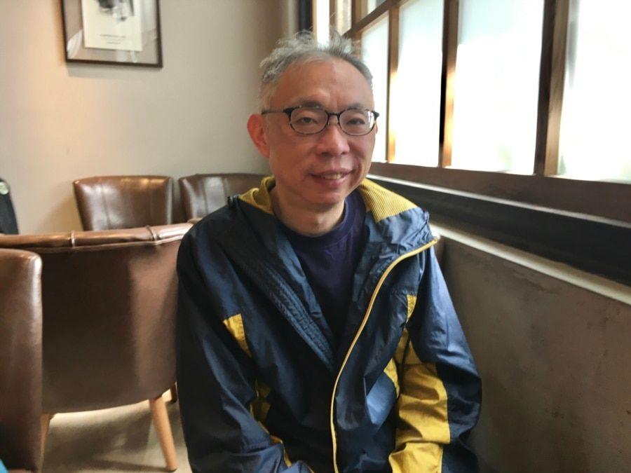 台湾师范大学政治学研究所教授范世平。(陈筠摄)