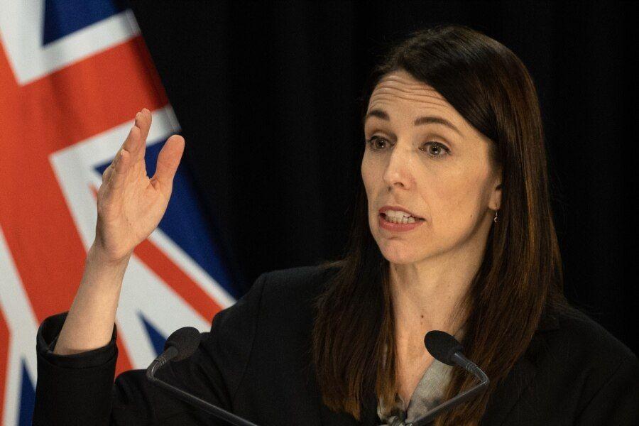 资料照:新西兰总理杰辛达·阿德恩