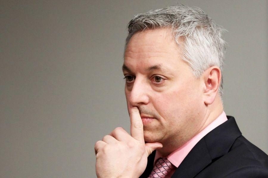 加拿大安全情报局局长戴维·维尼奥特(David Vigneault)(路透社资料照)
