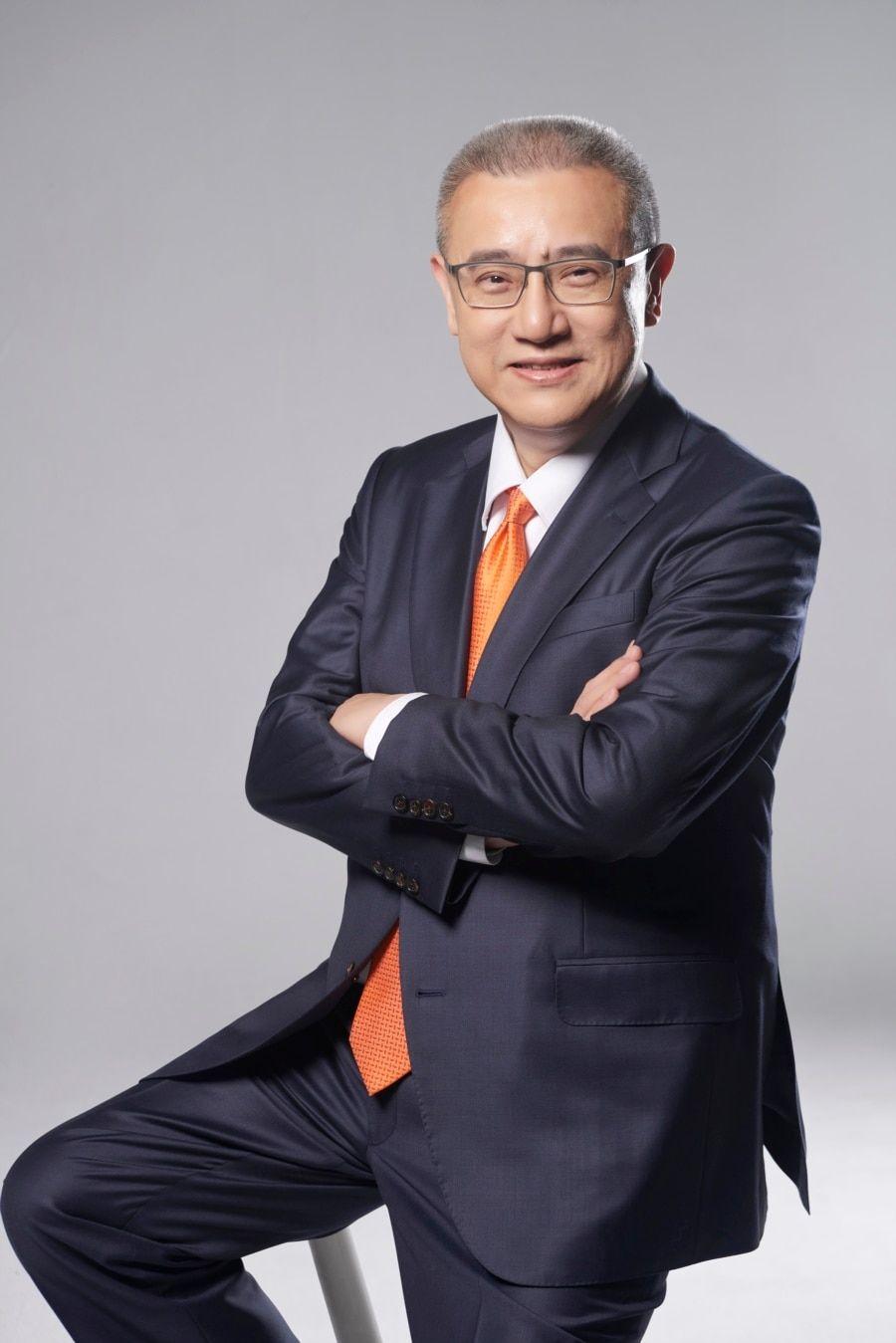 位于台北的蓝涛亚洲总裁黄齐元(照片提供: 黄齐元)