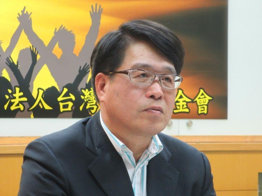 台湾民意基金会董事长游盈隆(美国之音张永泰拍摄)