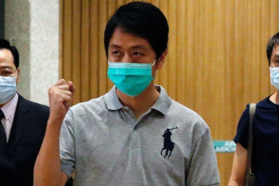 2020年8月27日时任香港立法会议员许智峰