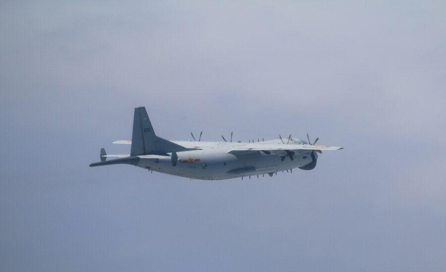 中国空军运-8飞机 (图片来源:台湾国防部网站)