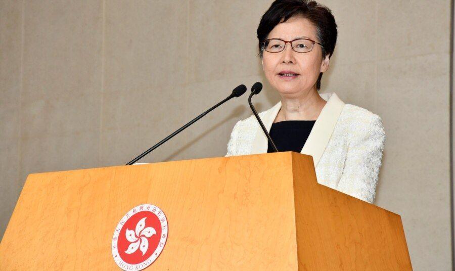 香港特首林郑月娥表示,资格审查委员会的成员将由多名特区主要官员担任,她又认为民主派亦有爱国人士。