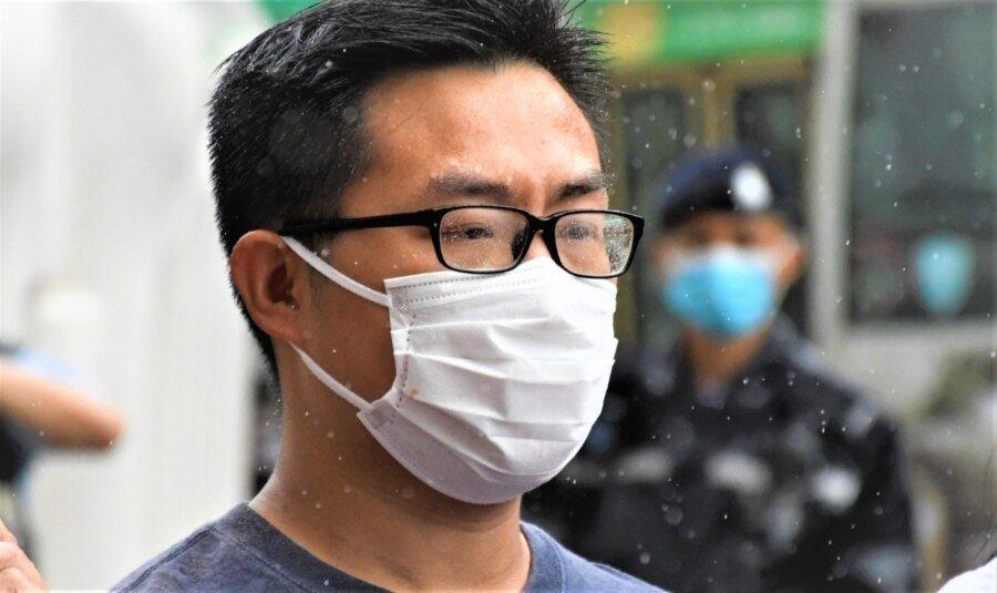 黄浩铭表示,如果民阵被当局取缔,他担心公民社会将会变得更极端 (美国之音/汤惠芸)