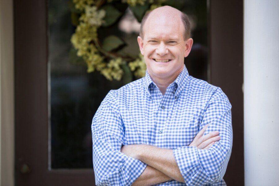 美国民主党籍联邦参议员库恩斯(Sen. Christopher Coons, D-DE)