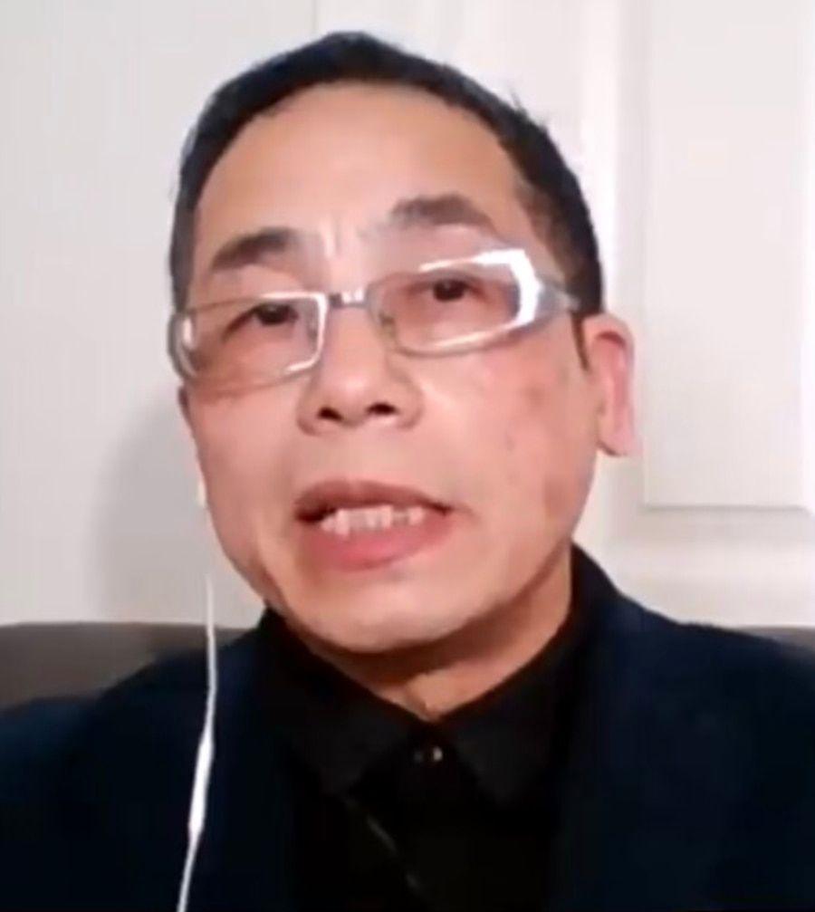 时政分析人士戈壁东 (美国之音资料照)