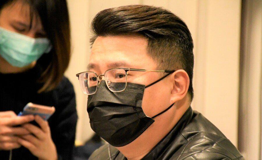 前香港立法會議員尹兆堅認為這次大搜捕另有政治目的, 企圖達到國安法震懾的效果。(美國之音 湯惠芸拍攝)