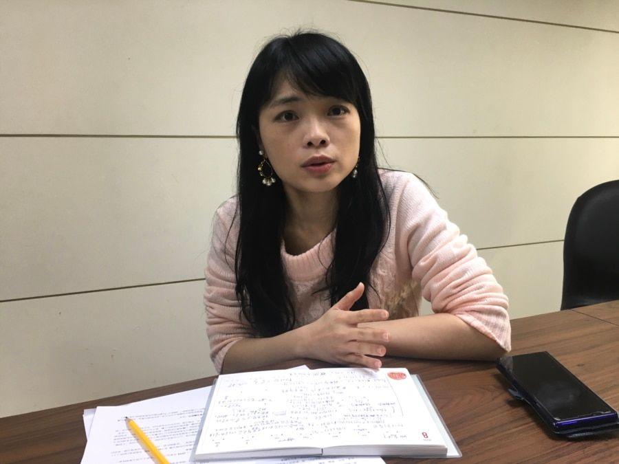 中华战略前瞻协会副秘书长卢宸纬(陈筠摄)