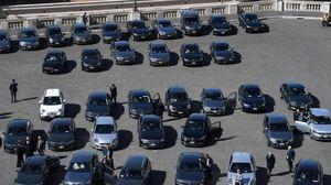 Auto blu: censimento, in calo del 21% sul 2018