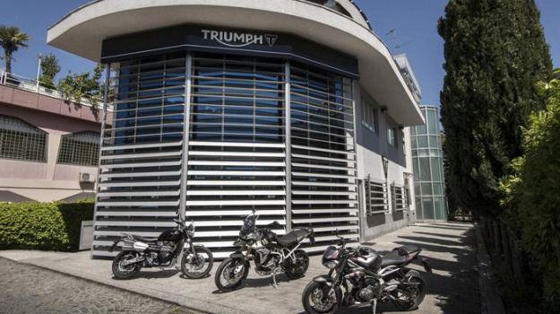 Triumph Motorcycles nuova casa' è alle porte Milano