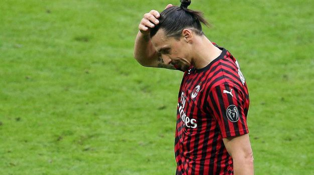 Milan sospiro sollievo Ibrahimovic tendine achille integro stop mese