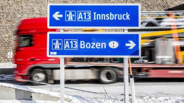 A22 divieto Tir per festa Austria Germania