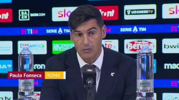 Orgoglio Fonseca: La Roma non è depressa