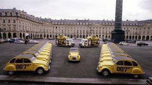Citroën, serie speciale 2CV 007 celebra i suoi primi 40 anni