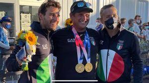 Un po' di Palermo nell'oro della vela, Gabriele Bruni coach di Tita e Banti: