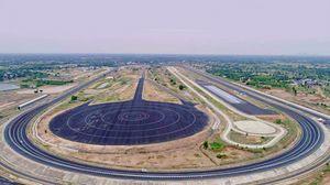 Mahindra apre nuovo Suv Proving Track a Kanchipuram in India