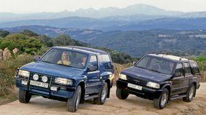 Opel Frontera, fuoristrada del Giro del Mondo in 21 giorni