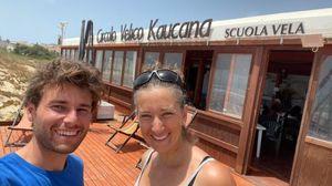 Banti e Tita, la coppia d'oro della vela ringrazia il Circolo di Ragusa: