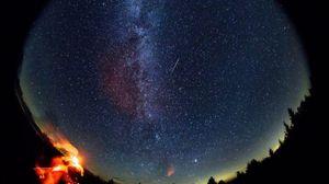 Pioggia di stelle cadenti anche nel cielo di settembre