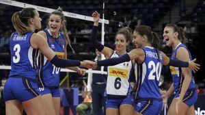 Volley donne, l'Italia batte 3-1 l'Olanda e conquista la finale dell'Europeo