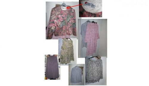 Donne vêtements divers (jupes, vestes, chemise…)