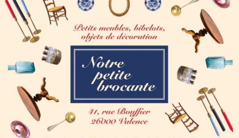 """""""Notre petite brocante"""" des objets envoyés dans toute la France"""