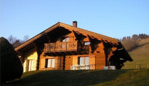 Loue chalet près des pistes Bernex (74) 6-8personnes