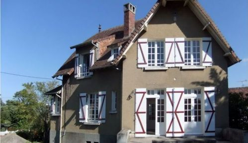 Loue maison de famille à Merville-Franceville (14810) - 7 couchages