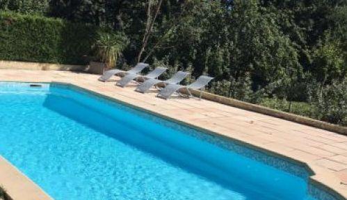 Loue villa 5ch, 10pers piscine cloturée, parc 4000m² en Provence