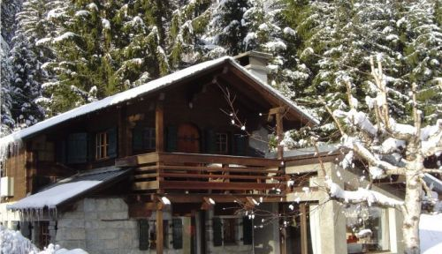 Loue Chalet 4/5couchages à Chamonix vue sur le Mont-Blanc