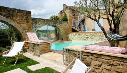 Maison de famille, 8couchages,piscine privée du 14juillet au 31Août