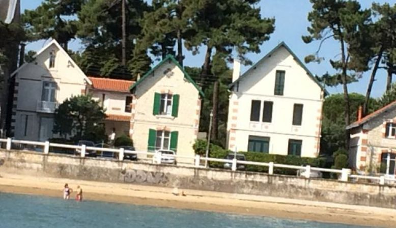 Loue jolie maison de famille, face à la mer à Oléron 2chambres