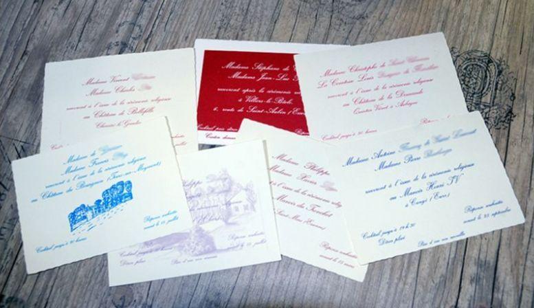 Conseil et impression de faire-part, invitations & remerciements