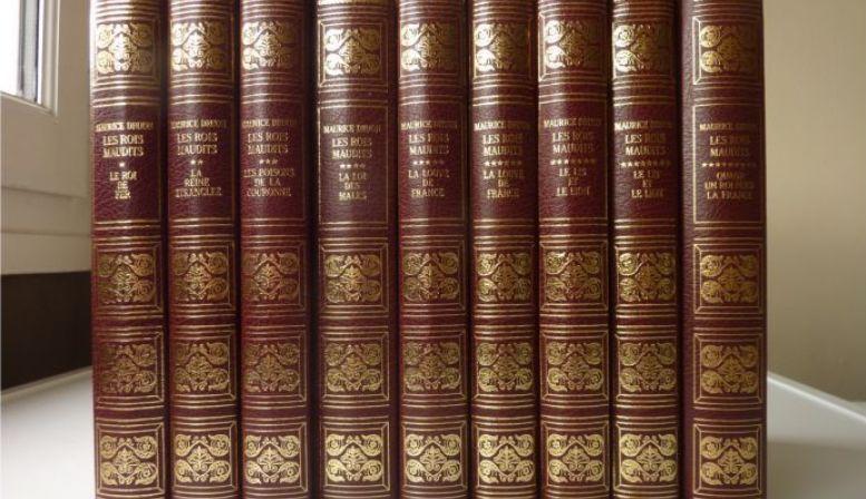 """Livres """"Les rois maudits"""" de Maurice DRUON"""