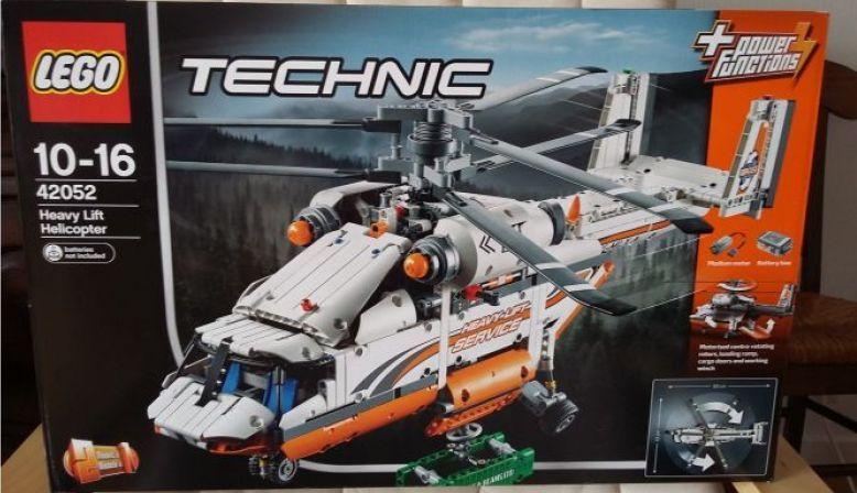 Vends set LEGO Technic Hélico de transport 42052NEUF (jamais ouvert)