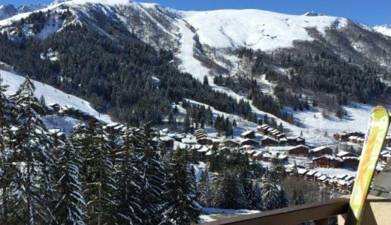 Loue duplex VALMOREL (73) 9couchages calme lumineux ski au pied