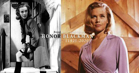 007邦女郎、初代《Avengers》 Honor Blackman 安詳離世,享年94歲。