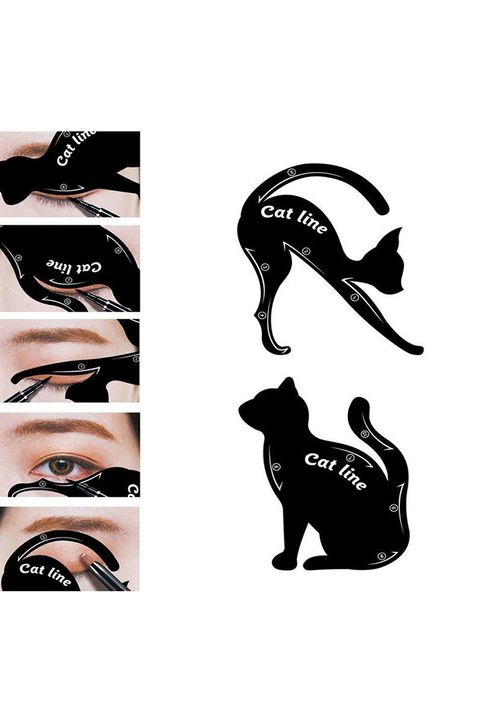 Creative Cat Eyeliner Card 2pcs