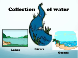 Image result for picture of collection in the water cycle