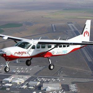 Лет со целосно електрична Cessna