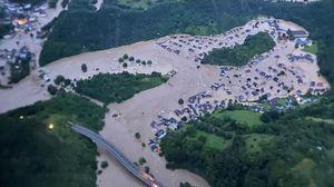 Maltempo in Germania, Coblenza inondata: 58 morti, 1300 dispersi. Belgio: 5 vittime FOTO